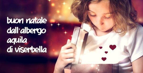 Auguri dall'Hotel Aquila di Viserbella - Rimini