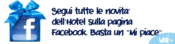 Segui tutte le novità sulla pagina Facebook - vai >>